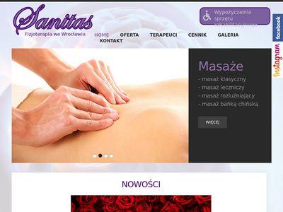 Sanitas.wroclaw.pl masaż