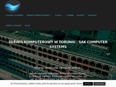 Sak.pc.pl serwis komputerów i laptopów
