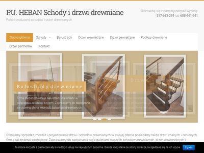 Schodyheban.pl producent drzwi