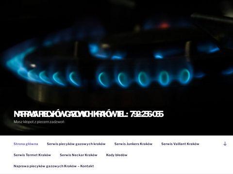 Naprawa piecyków gazowych Kraków