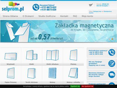 Selprom.pl - wiatraczki reklamowe