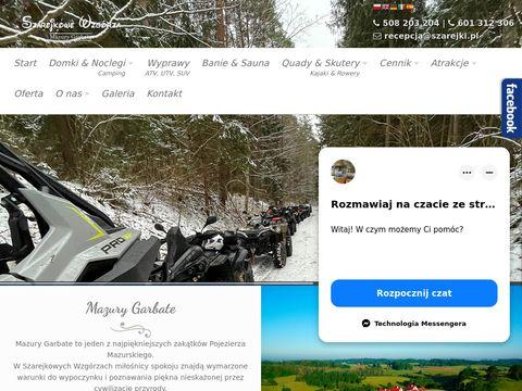 Szarejkowe Wzgórza - domki na Mazurach