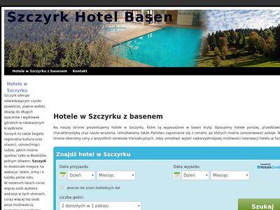 Szczyrk-hotel-basen.pl