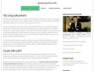 Spolkacywilna.info blog o spółce cywilnej