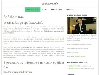 Spolkazoo.info rejestracja spółki zoo