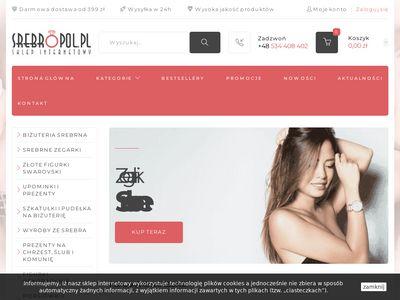 Srebropol.pl kuferek na biżuterię