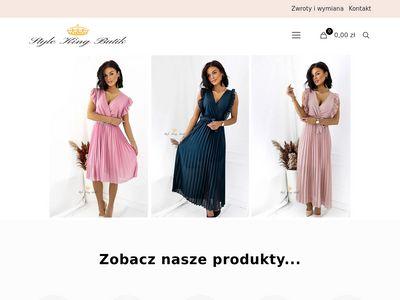 Stylekingbutik.com modne ubrania dla kobiet