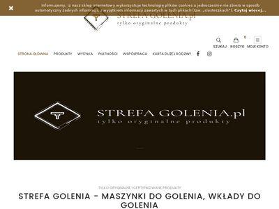 Strefagolenia.pl - maszynka do golenia