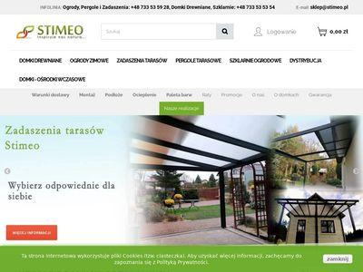 Stimeo - sprzedaż architektury ogrodowej