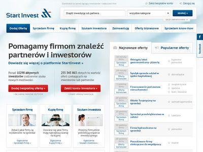 Startinvest.pl platforma inwestycyjna