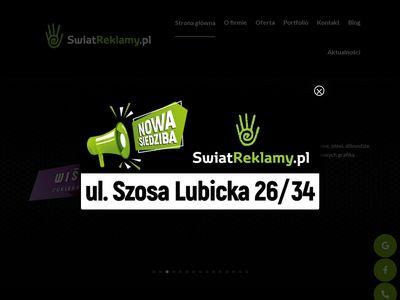 Świat Reklamy kasetony Toruń