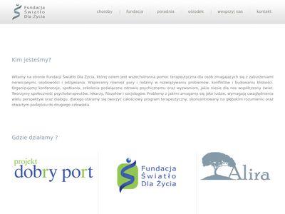 Fundacja Światło dla Życia - leczenie