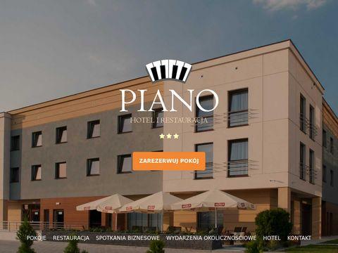 Piano nocleg w hotelu Lublin