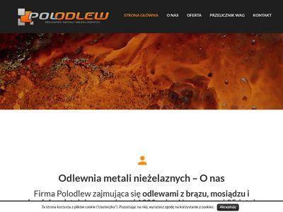 Polodlew - odlewnia metali kolorowych