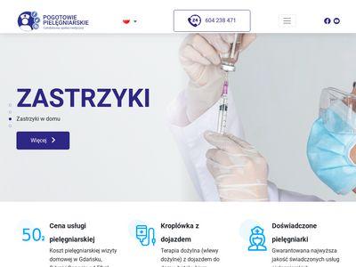 Pogotowie-pielegniarskie.pl Trójmiasto