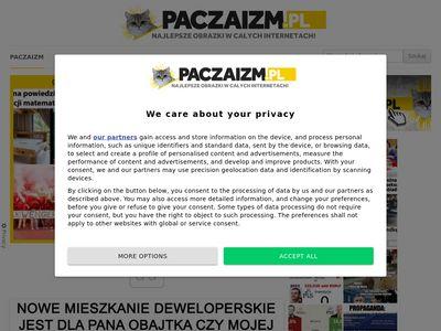 Paczaizm.pl - zbiór śmiesznych obrazków