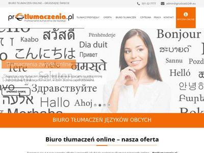 Protlumaczenia.pl cennik tłumaczeń