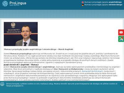 Pro Lingua biuro tłumaczeń