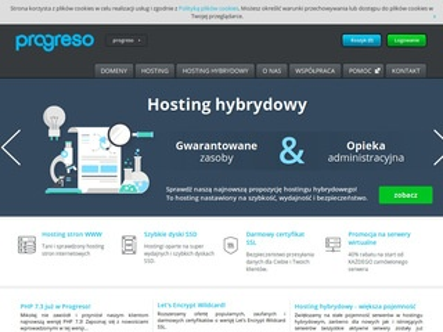 Progreso.pl - tanie certyfikaty SSL