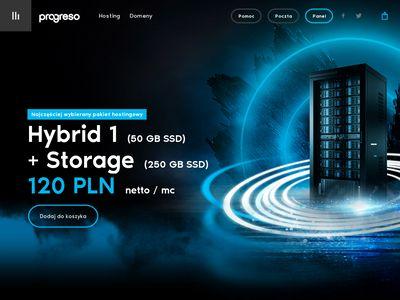 Progreso - hosting stron www ssd