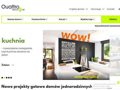 Quattrodomy.pl projekt nowoczesnego domu