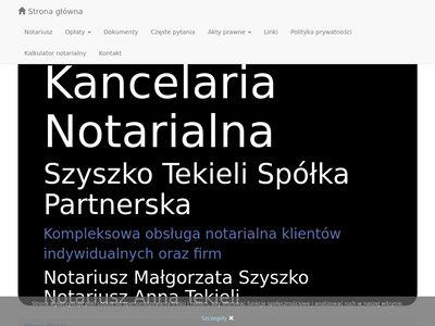 Notariusz-wroclaw.pl akty prawne