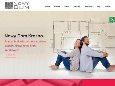 Nowydom-sc.pl blachodachówki Krosno