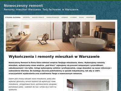 Remonty mieszkań Warszawa