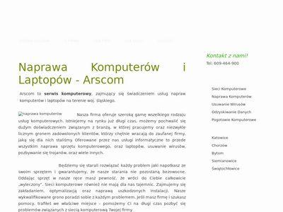 Arscom serwis komputerów