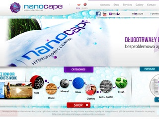 Nanocape - impregnaty do drewna