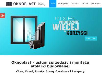 Oknoplastkielce.pl bramy garażowe Kielce