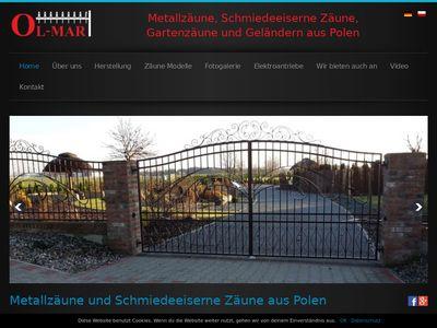 Olmar-metallzaune.de ogrodzenia i bramy
