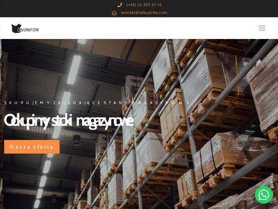 Odkupimy.com - stoki magazynowe