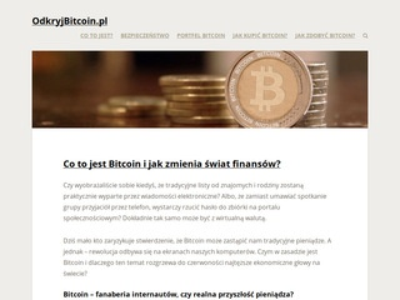 OdkryjBitcoin.pl - kryptowaluty