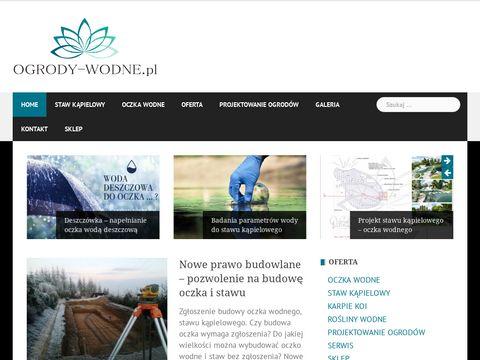 Ogrody-wodne.pl stawy kąpielowe