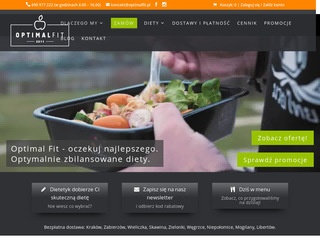 Optimal Fit - catering dietetyczny