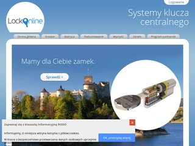 Lockonline.pl - master key