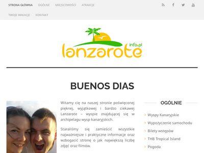 Lanzarote.info.pl wakacje