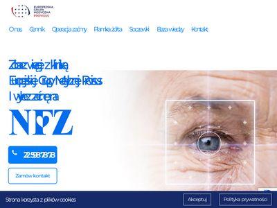 Leczsiezagranica.pl operacja zaćmy