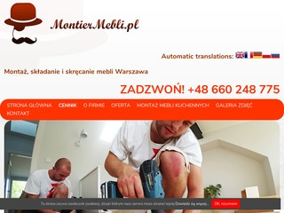Montiermebli.pl składanie mebli ikea