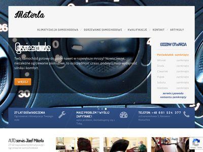 Materla.com.pl naprawa klimatyzacji