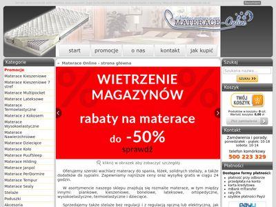 Materace-online.eu hilding
