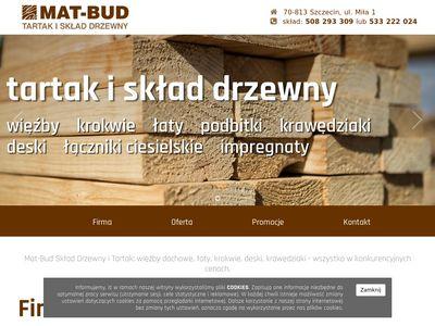Mat-Bud łaty dachowe Szczecin