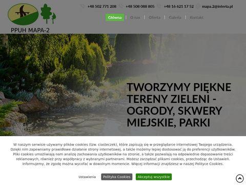 Mapa-2 usługi ogrodnicze Jarosław