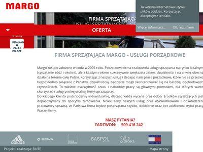 Margo Łódź - dogłębne sprzątanie biur