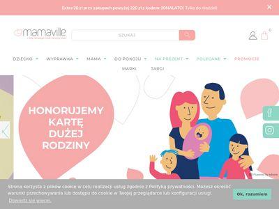 Mamaville.pl wyprawka dla noworodka