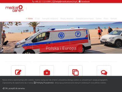 Medicalcare24.pl transport medyczny