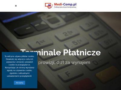 Medi-comp.pl - kasy fiskalne Andrychów