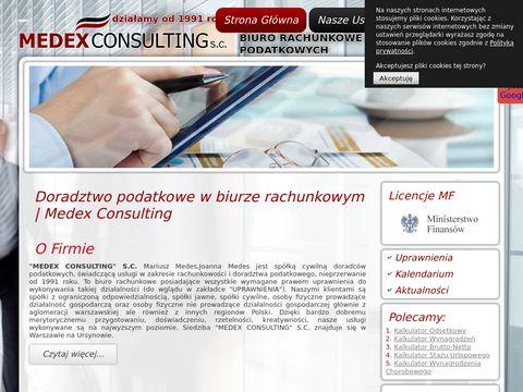 Medexsc deklaracje podatkowe