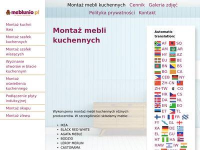 Meblunio.pl - montaż mebli Warszawa